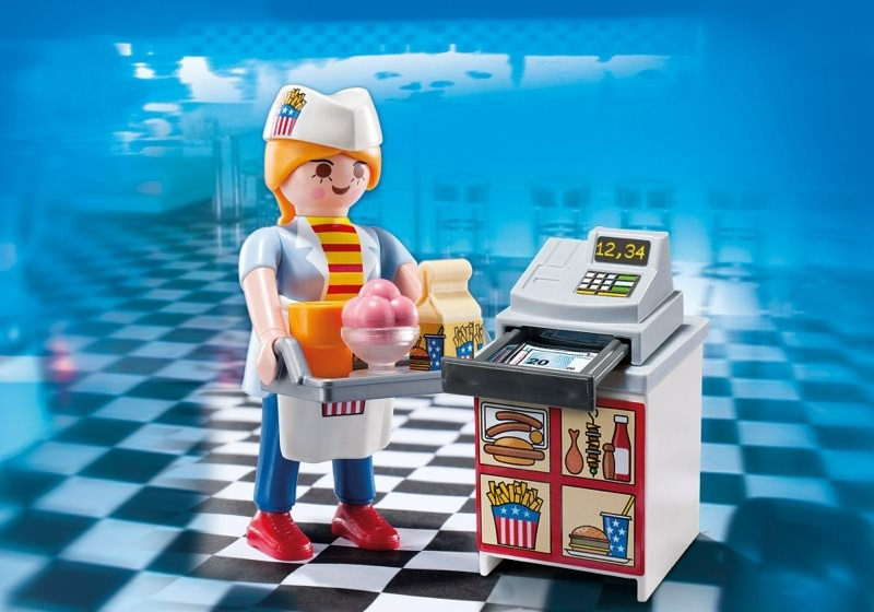 Fast Food Playmobil