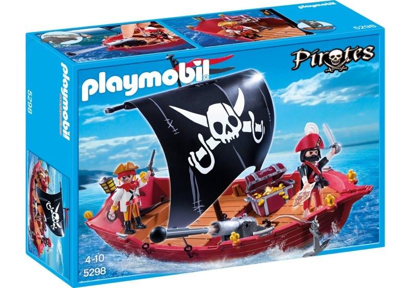 Playmobil 5298 - skull & bones corsair - Box