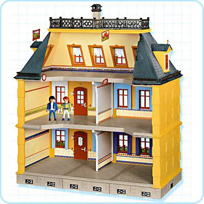 Playmobil 5301 - The Grande Mansion - Back
