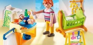 Playmobil - 5304 - Babyzimmer mit Wiege