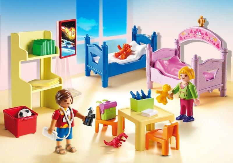 Playmobil set 5306 buntes kinderzimmer klickypedia for Kinderzimmer playmobil