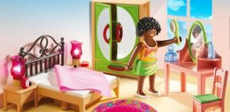 Playmobil - 5309 - Schlafzimmer mit Schminktischchen