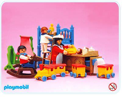 Playmobil Set: 5311 - Children\'s Room - Klickypedia