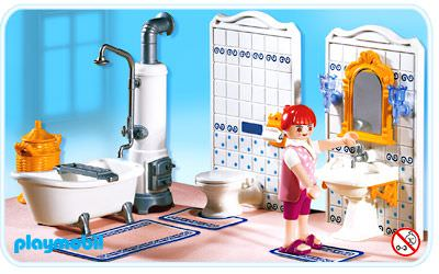 Playmobil set 5318 bathroom klickypedia for Salle bain playmobil