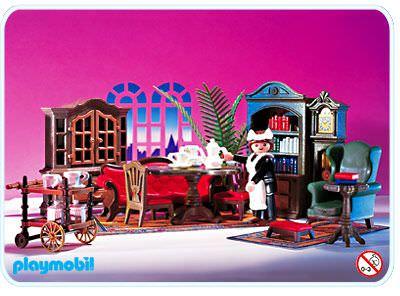 Playmobil set 5320 dining room klickypedia for Wohnzimmer playmobil