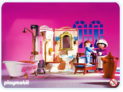 Playmobil set 5324 bathroom klickypedia for Salle bain playmobil
