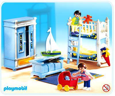 Playmobil set 5328 kids 39 room klickypedia for Casa moderna playmobil 6784
