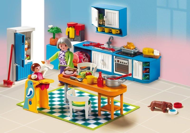 Playmobil Set 5329  Grand Kitchen  Klickypedia