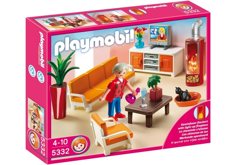 Playmobil 5332 - Comfortable Living Room - Box