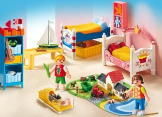 Playmobil - 5333 - Boy and Girl's Bedroom