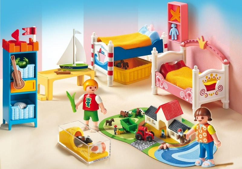 Playmobil Set 5333 Boy And Girl 39 S Bedroom Klickypedia