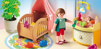 Playmobil - 5334 - Baby Room with Mobile