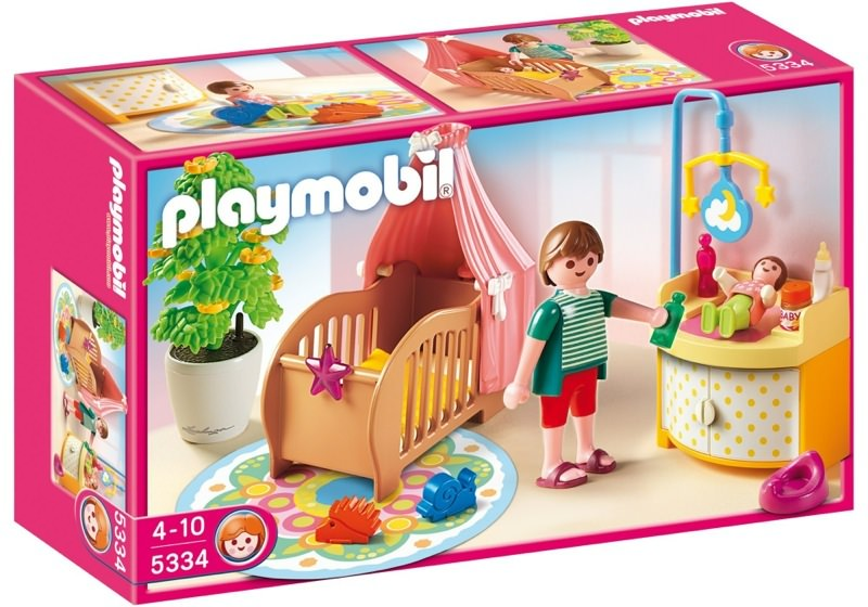 Playmobil 5334 - Baby Room with Mobile - Box