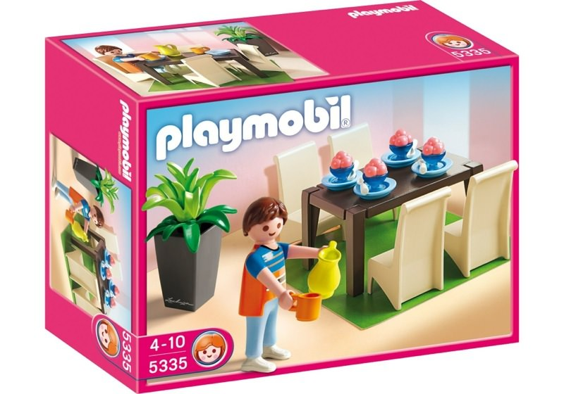 Playmobil set 5335 grand dining room klickypedia for Playmobil esszimmer 5335