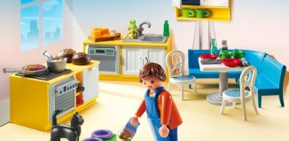 Playmobil - 5336 - Fitted kitchen with seating