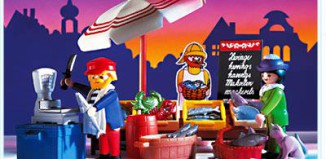 Playmobil - 5342 - Fish Stand
