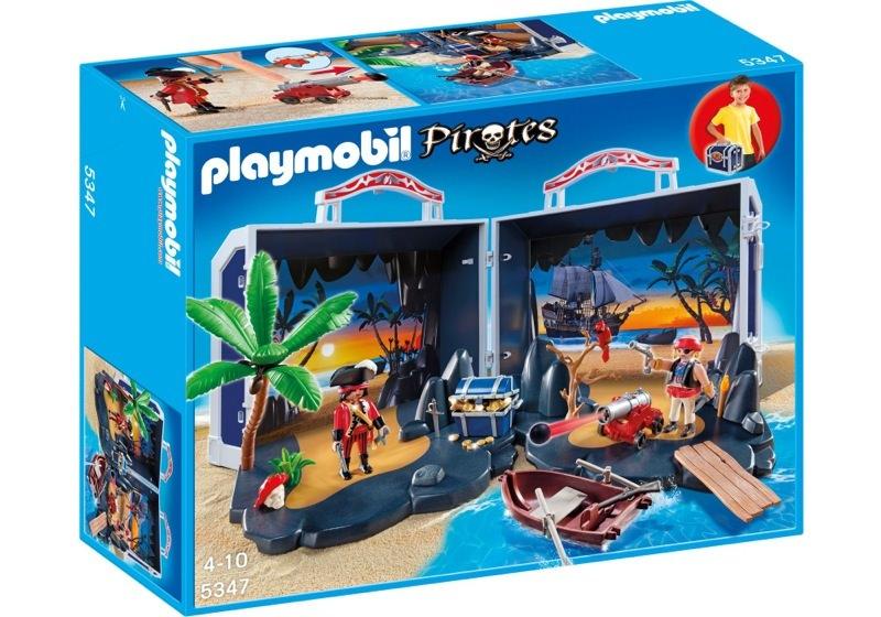Playmobil 5347 - Pirate treasure chest - Box