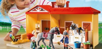 Playmobil - 5348 - Take-along Stable