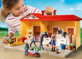 Playmobil - 5348 - Take-along Stable