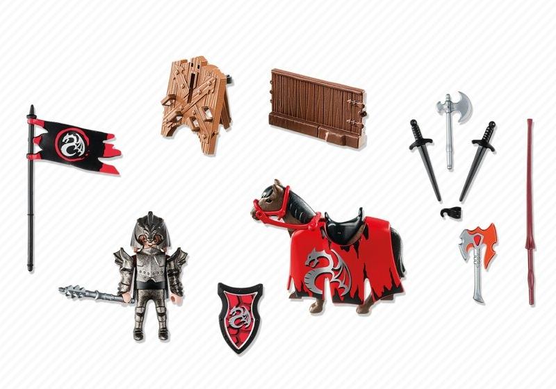 ... Playmobil 5358 - Dragon Tournament Knight - Back