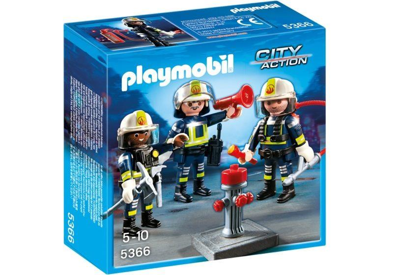 Playmobil 5366 - Firemen team - Box