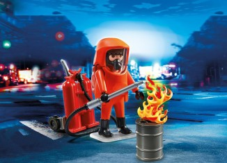 Playmobil - 5367 - Specialized fireman