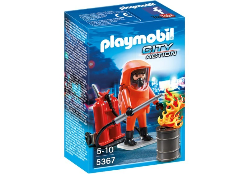 Playmobil 5367 - Specialized fireman - Box