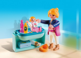 Playmobil - 5368 - Mother and Child with Changing Table
