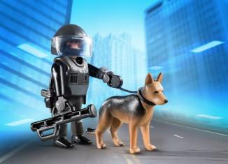 Playmobil - 5369 - Police with dog