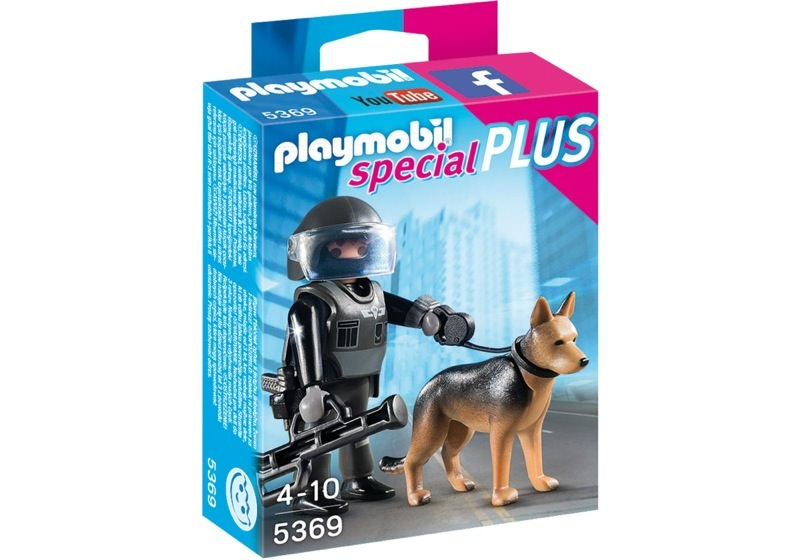 Playmobil 5369 - Police with dog - Box