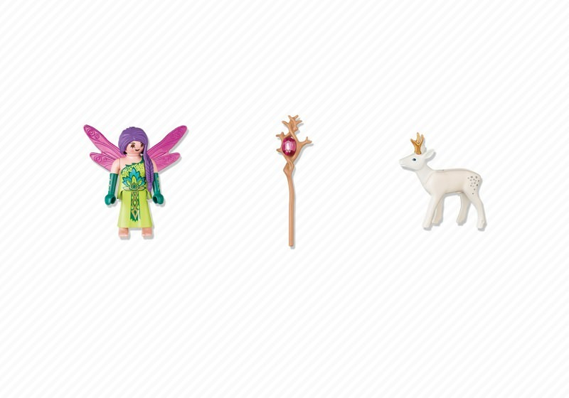 Playmobil 5370 - Fairy with Deer - Back