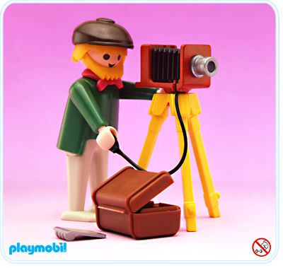 Playmobil set 5401 photographer klickypedia for Playmobil kinderzimmer 4287