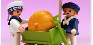 Playmobil - 5402v1 - Children With Pumpkin Cart