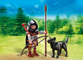Playmobil - 5408 - Huntsman with Wolf