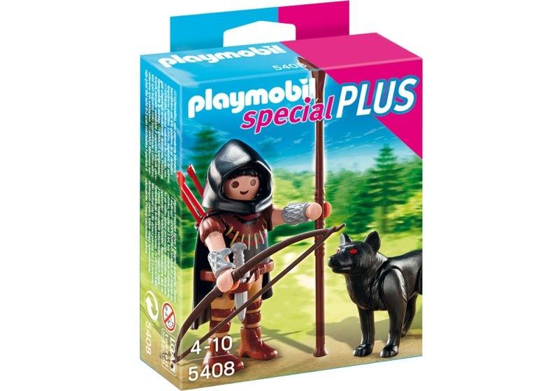 Playmobil 5408 - Huntsman with Wolf - Box