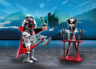 Playmobil - 5409 - Knight with axe and armourer