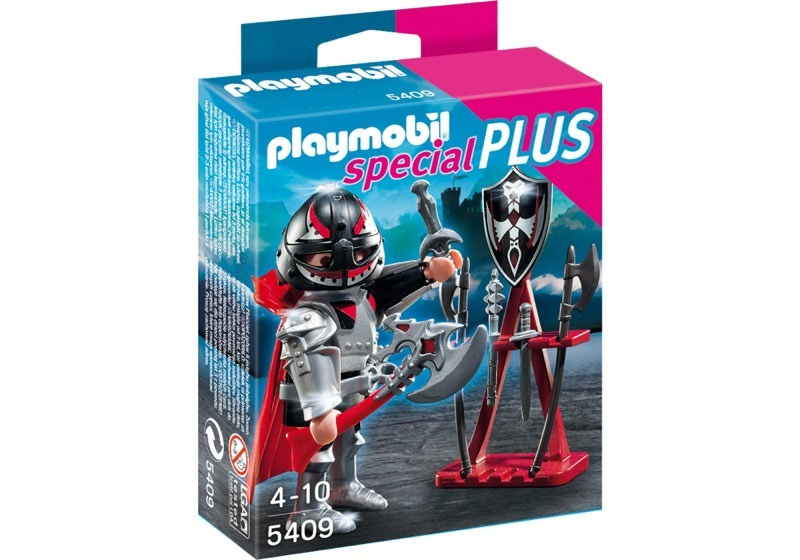 Playmobil 5409 - Knight with axe and armourer - Box