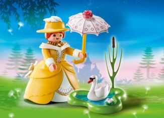 Playmobil - 5410 - Victorian lady with Pond