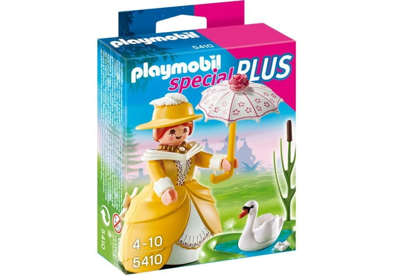 Playmobil 5410 - Victorian lady with Pond - Box