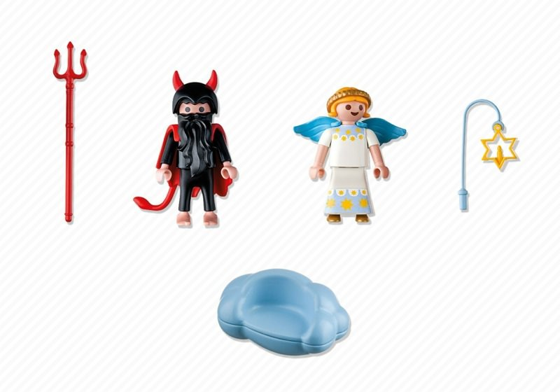 Playmobil 5411 - Angel and Devil - Back