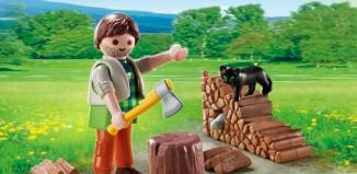 Playmobil - 5412 - Holzhacker
