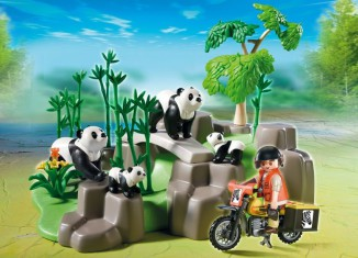 Playmobil - 5414 - Panda Researcher in the Bamboo Forest
