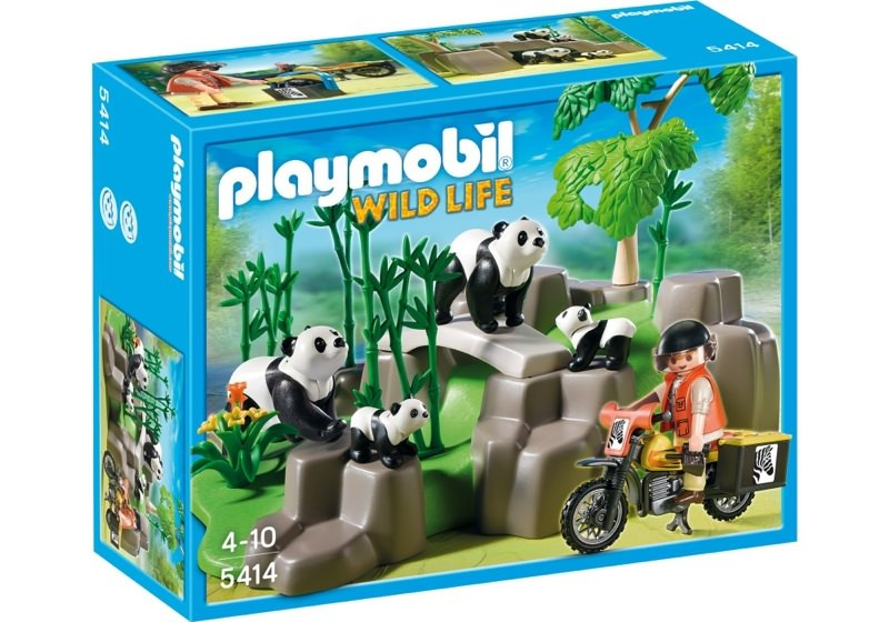 Playmobil 5414 - Panda Researcher in the Bamboo Forest - Box