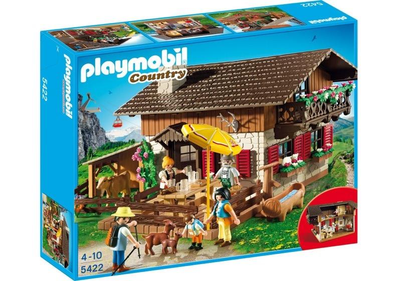 Playmobil 5422 - Alpine Hut - Box