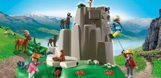 Playmobil - 5423 - Rock Climbers with Mountain Animals