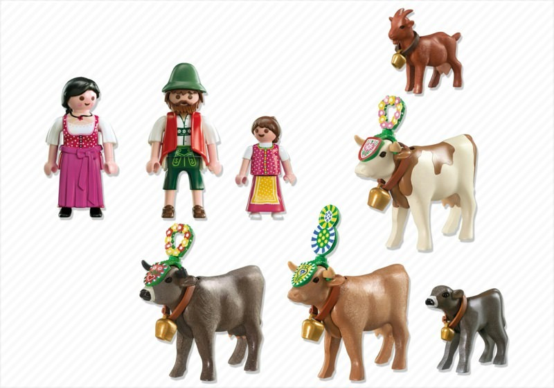 Playmobil 5425 - Alpine Festival Procession - Back