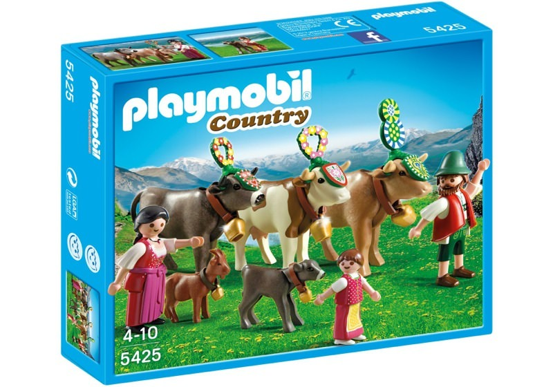 Playmobil 5425 - Alpine Festival Procession - Box