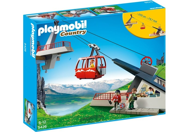 Playmobil 5426 - Cable car - Box