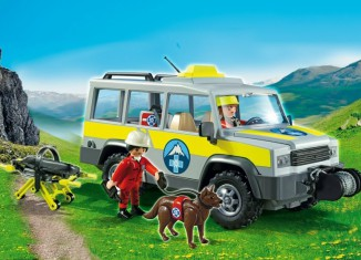 Playmobil - 5427 - Mountain Rescue Truck