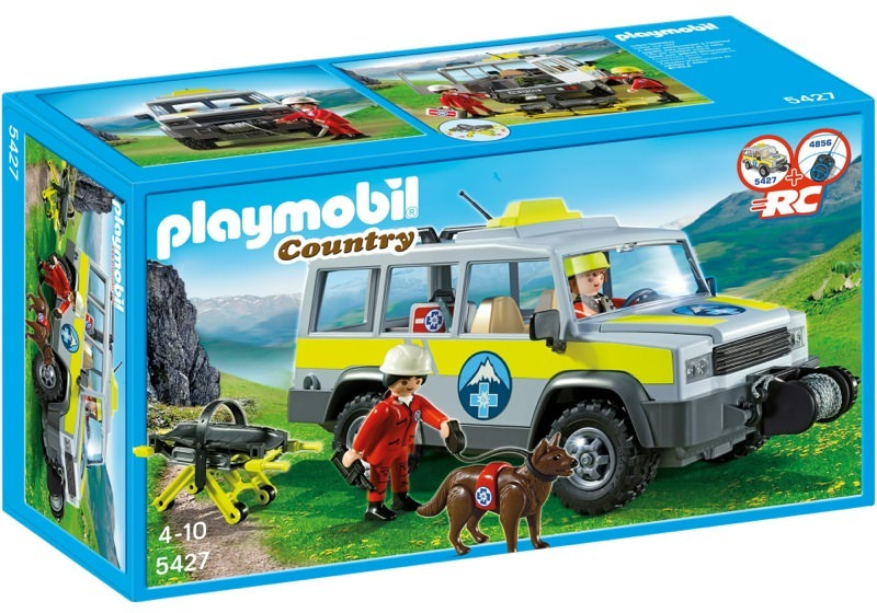 Playmobil 5427 - Mountain Rescue Truck - Box
